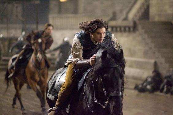 As Prince Caspian in 'The Chronicles of Narnia' (Sky)