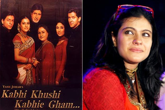 "<b>3. Kajol:</b><br> <span style=""font-size:11.0pt; "">Bollywood blockbuster <em style="""">'Kabhi khushi kabhie gham'</em> featured some of the best Indian wear. Chiffons sarees and heavy worked lehengas, inspired every bride to wear a copy of it for her D day!</span>"