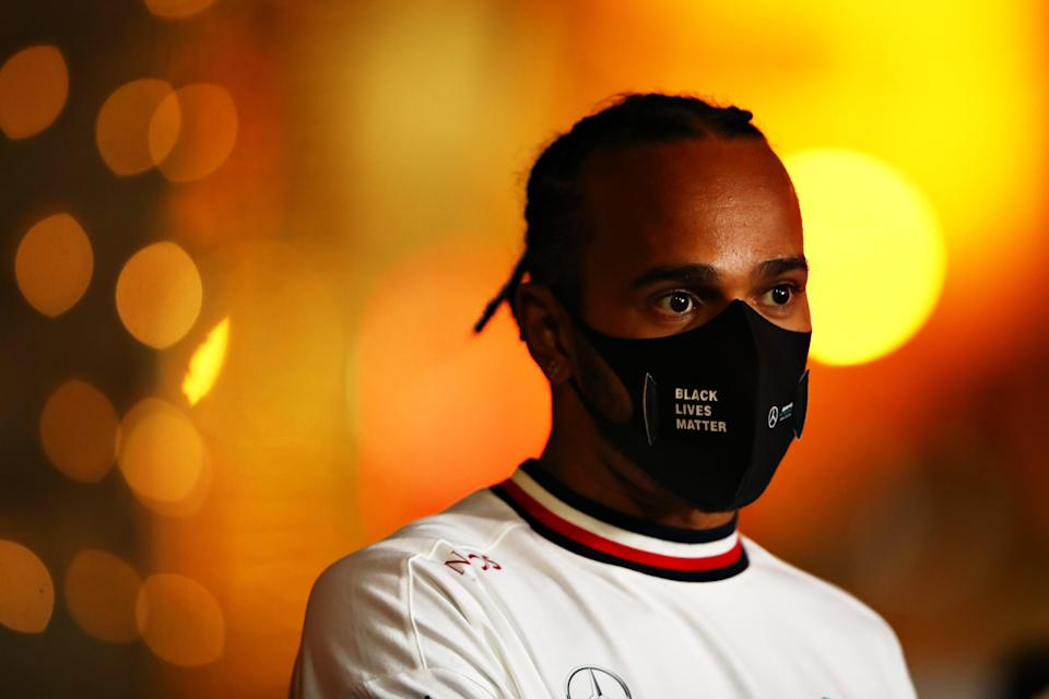 <p>Lewis Hamilton previously held talks with Ferrari, but is set to sign a new deal at Mercedes</p> (Getty Images)