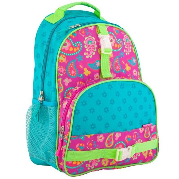 """Find this <a href=""""https://fave.co/39wiHVz"""" rel=""""nofollow noopener"""" target=""""_blank"""" data-ylk=""""slk:Southern Peach Co. personalized kids backpack"""" class=""""link rapid-noclick-resp"""">Southern Peach Co. personalized kids backpack</a> for $23 on <a href=""""https://fave.co/39wiHVz"""" rel=""""nofollow noopener"""" target=""""_blank"""" data-ylk=""""slk:Etsy"""" class=""""link rapid-noclick-resp"""">Etsy</a>."""