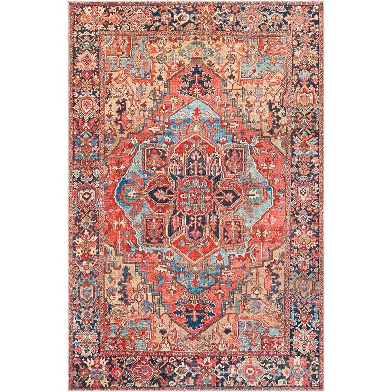 """<br><br><strong>World Menagerie</strong> Crook Oriental Power Loom Rug, $, available at <a href=""""https://go.skimresources.com/?id=30283X879131&url=https%3A%2F%2Ffave.co%2F3jyYyBr"""" rel=""""nofollow noopener"""" target=""""_blank"""" data-ylk=""""slk:Wayfair"""" class=""""link rapid-noclick-resp"""">Wayfair</a>"""