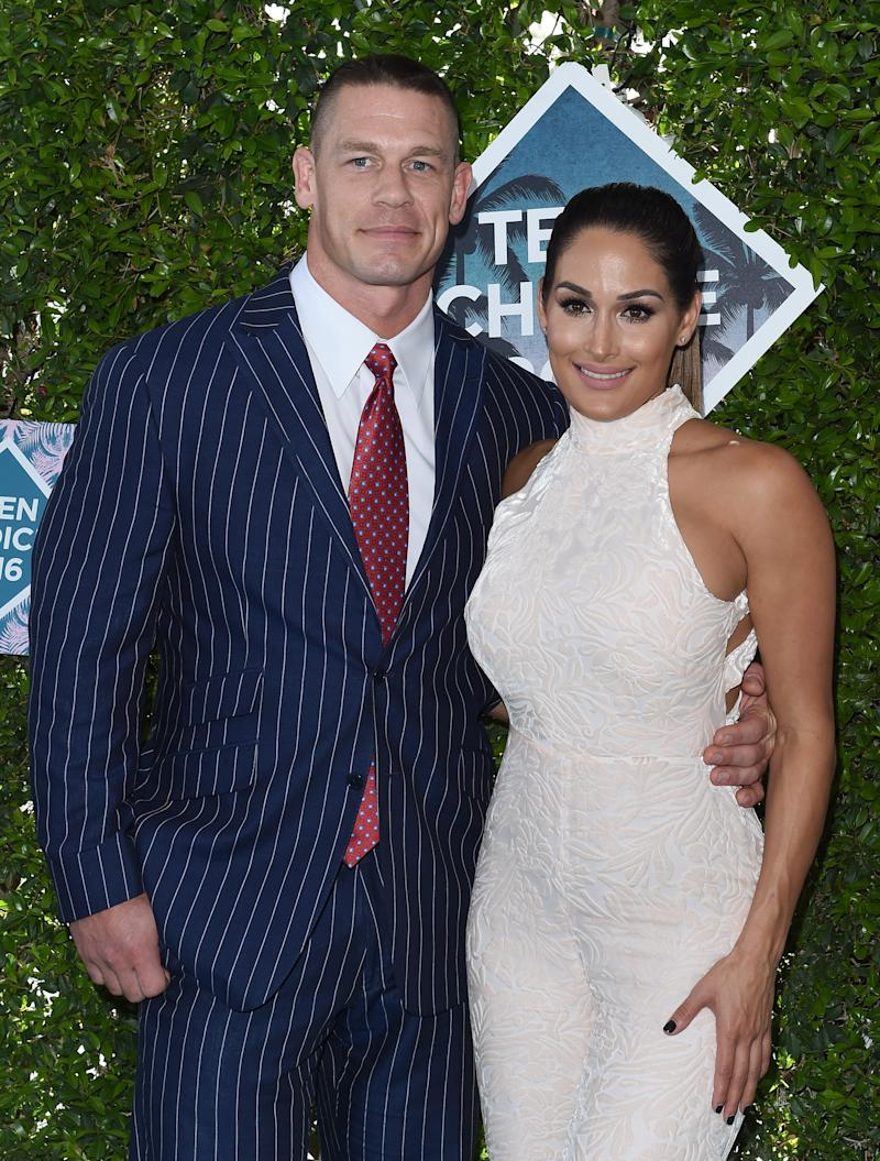 John Cena Just Revealed He Custom-Designed Nikki Bella's Engagement Ring