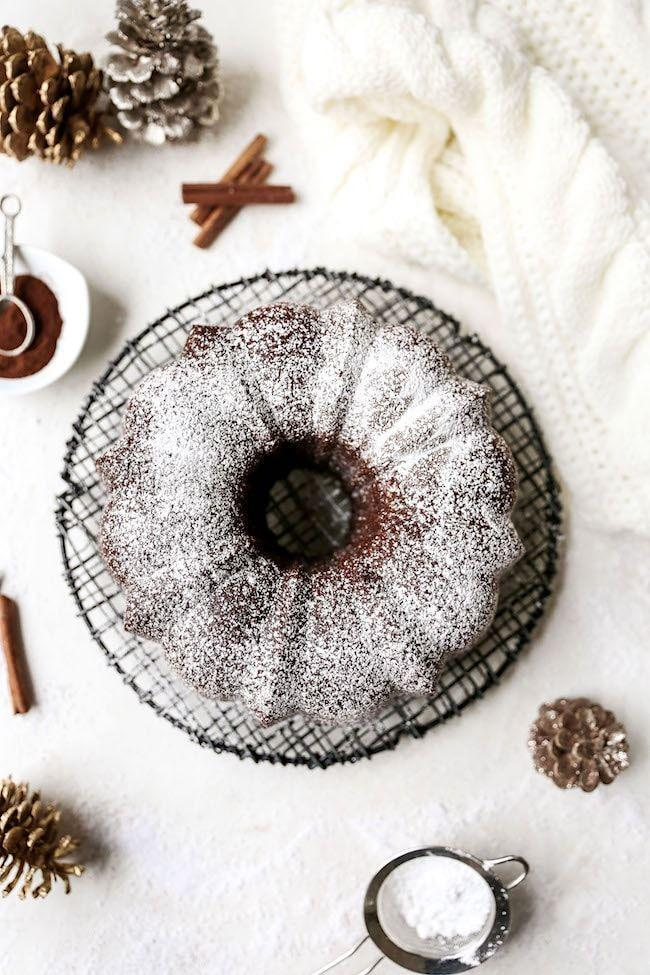"""<p>Looking for that great gingerbread flavor, but don't want the fuss of rolling and cutting out cookies? Try this easy cake—each slice is full of the same warm flavors. </p><p><a href=""""https://www.twopeasandtheirpod.com/gingerbread-bundt-cake/"""" rel=""""nofollow noopener"""" target=""""_blank"""" data-ylk=""""slk:Get the recipe"""" class=""""link rapid-noclick-resp"""">Get the recipe</a>. </p>"""