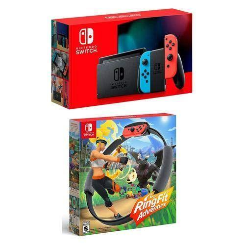 "<p><strong>Nintendo</strong></p><p>amazon.com</p><p><strong>$475.00</strong></p><p><a href=""https://www.amazon.com/dp/B081NXHY7G?tag=syn-yahoo-20&ascsubtag=%5Bartid%7C2140.g.33628308%5Bsrc%7Cyahoo-us"" rel=""nofollow noopener"" target=""_blank"" data-ylk=""slk:Shop Now"" class=""link rapid-noclick-resp"">Shop Now</a></p><p>Video games def get a bad rep. Here's one that the whole family can enjoy and use to get some movement in. This game requires you to perform exercises, like jogging and yoga poses, in order to level up to the next challenge. </p>"