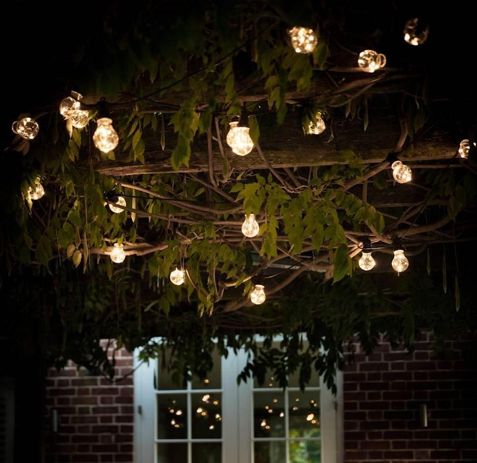 """<p>As the summer nights draw in chances are you'll be outside a bit later, so why not invest in some garden fairy lights or lanterns to create a romantic atmosphere.<a href=""""https://www.thelittlehouseshop.co.uk/products/clear-festoon-led-light-chain"""" rel=""""nofollow noopener"""" target=""""_blank"""" data-ylk=""""slk:[Photo: The Little House Shop]"""" class=""""link rapid-noclick-resp""""> [Photo: The Little House Shop]</a> </p>"""