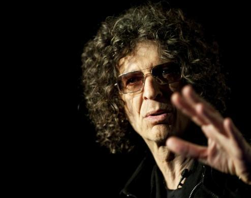 "Howard Stern, $95 million: Howard Stern speaks during an ""America's Got Talent"" news conference in New York City May 10, 2012."