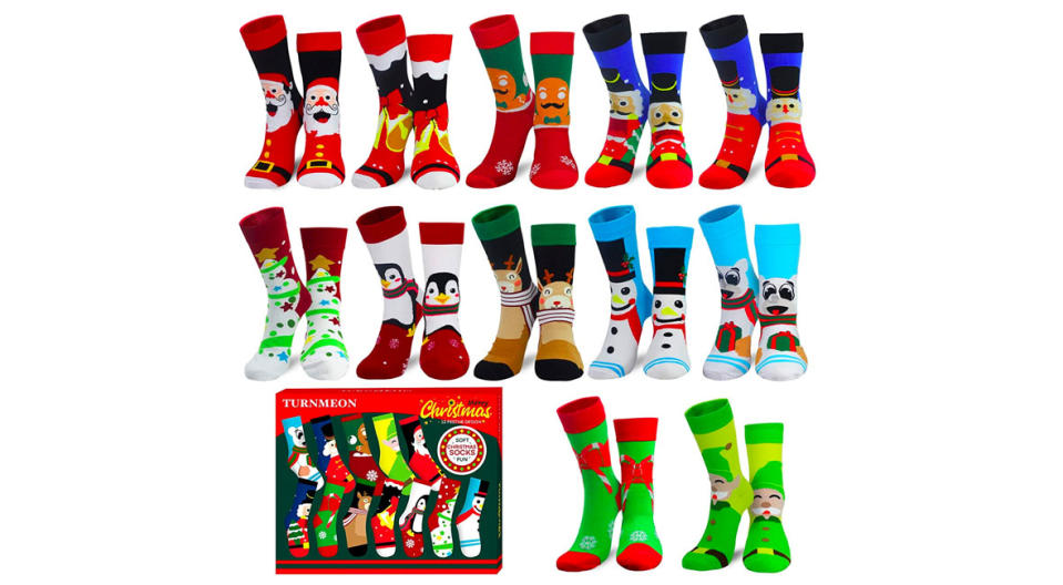 Camlinbo 2020 Novelty Christmas Socks (Photo: Amazon)