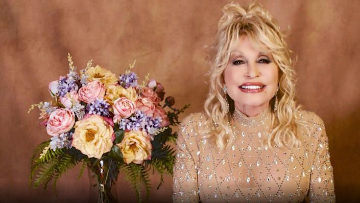 Dolly Parton 56th Academy Of Country Music Awards - Show