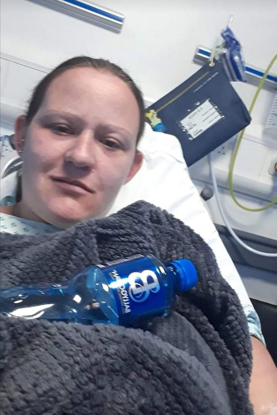 A mum-of-two with a rare allergy was left fighting for her life after she was accidentally served diet cola instead of a full-fat version. [Photo: Caters]