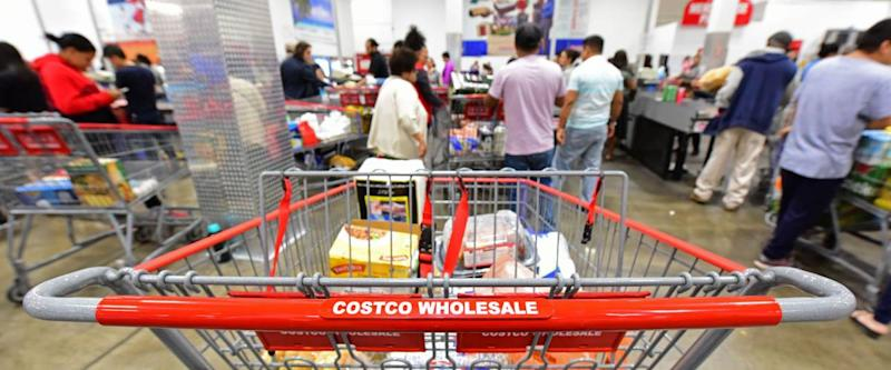 NEW YORK CITY - SEPTEMBER 30 2017: Costco stores joined other national retailers in offering an emergency survival kit for $1000.00