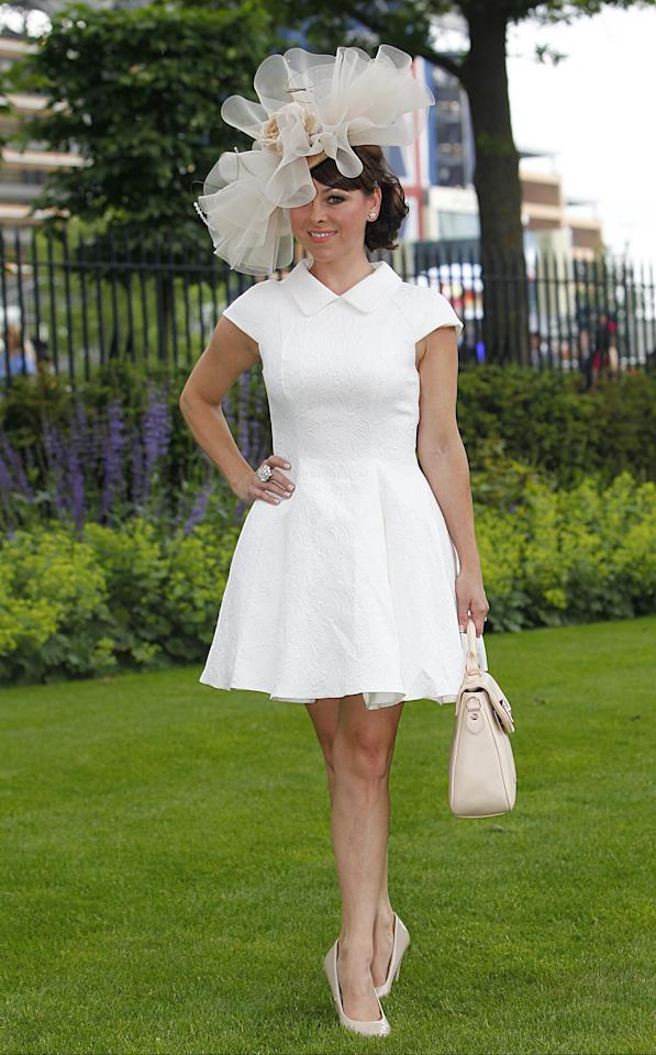 Lisa Scott-Lee during Day Four of The Royal Ascot Meeting 2013