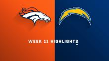Broncos vs. Chargers highlights | Week 11