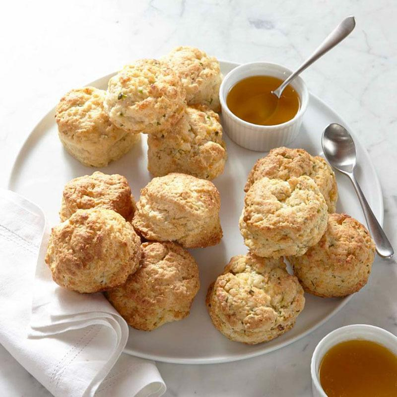 """<p>Now friends and family members can have arguably the best biscuits in the country, hot and fresh on their kitchen table. From the Miami restaurant The Federal and delivered frozen by Williams-Sonoma, these biscuits ship in three flavors — buttermilk, cheddar, and jalapeño — with two glazes,cider vinegar and spicy garlic. <b>Price:$50. <a href=""""http://www.williams-sonoma.com/products/assorted-biscuits/?pkey=e%7Cassorted%2Bbisfuits%7C1%7Cbest%7C0%7C1%7C24%7C%7C1&cm_src=PRODUCTSEARCH"""">Buy the biscuits</a>.</b><i>(Photo: Williams-Sonoma)</i></p>"""