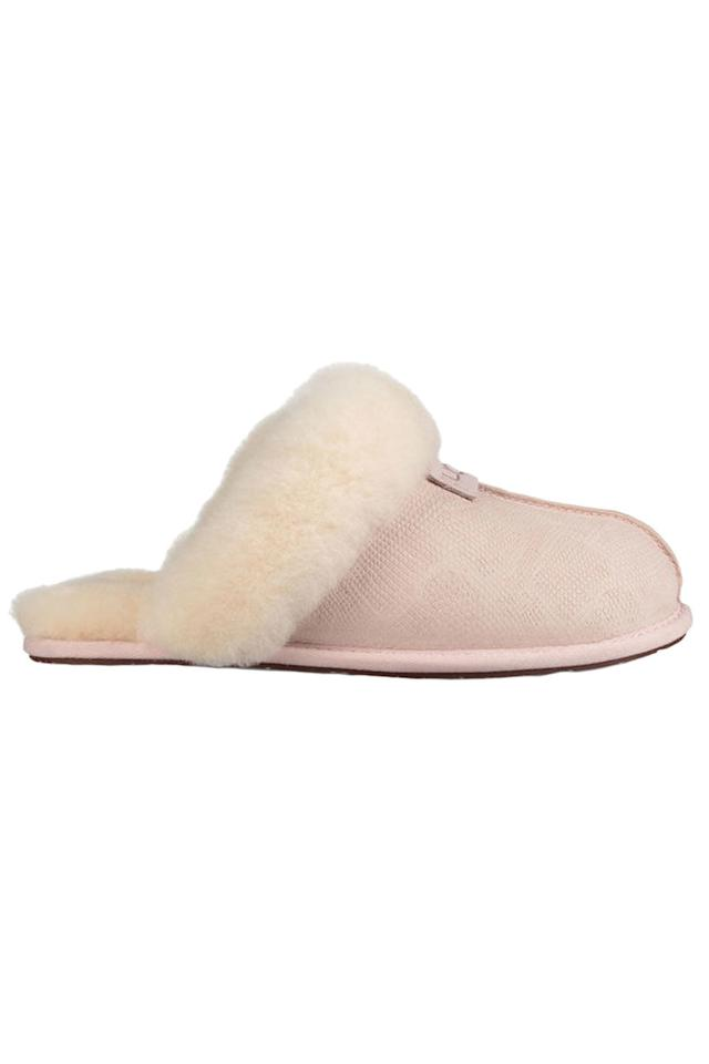 "<p>Some slippers that are as laid-back as she is. </p><p><em>Scuffette II Snake ($85) by Ugg, <a rel=""nofollow"" href=""http://www.ugg.com/womens-slippers/scuffette-ii-snake/1015379.html?dwvar_1015379_color=QRT "">ugg.com</a></em><br></p>"