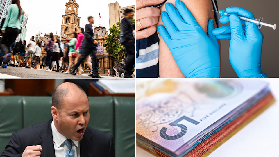 Treasurer Josh Frydenberg will introduce a draft law to make changes to worker and business COVID-19 support. Source: Getty/Yahoo Finance
