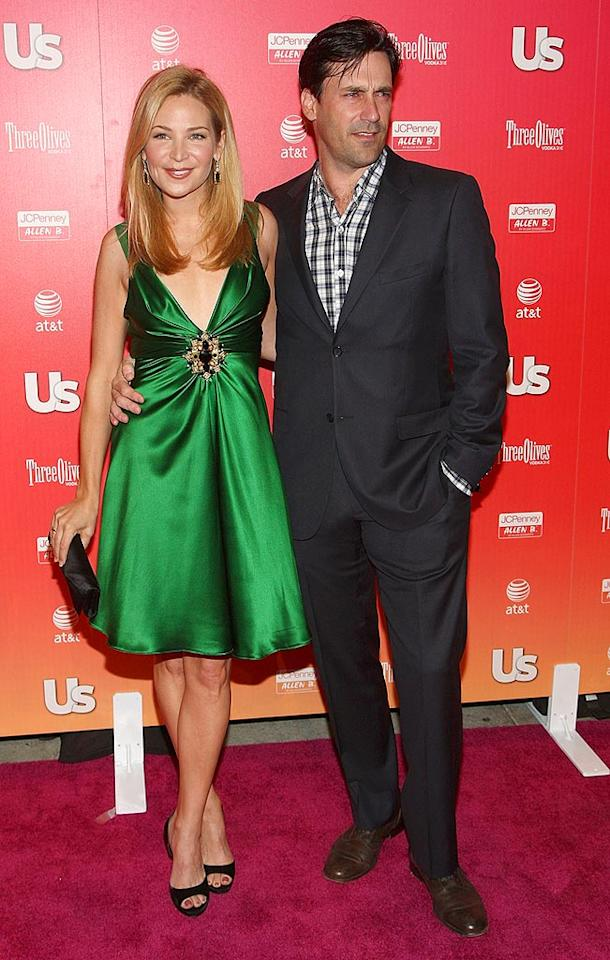"Jennifer Westfeldt showed up with the hottest accessory of the night, ""Mad Men's"" Jon Hamm. Alberto Rodriguez/<a href=""http://www.gettyimages.com/"" target=""new"">GettyImages.com</a> - April 1, 2009"