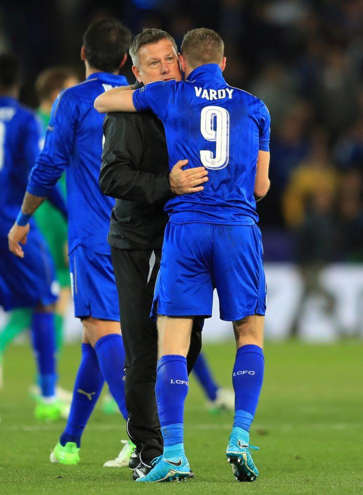 Craig Shakespeare gave it a good go with his Leicester team against Atletico