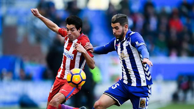 Diego Simeone refused to be drawn on Real Madrid's reported interest in Theo Hernandez after Atletico beat Real Sociedad 1-0 in LaLiga.