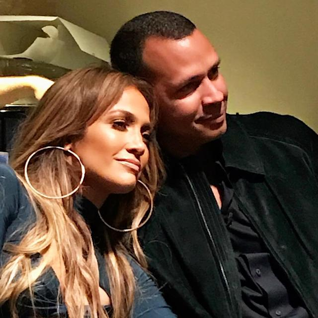"<p>Lopez says being with her boyfriend is her ""happy place."" We can tell! (Photo: <a href=""https://www.instagram.com/p/BZm_vjYlWQY/?hl=en&taken-by=jlo"" rel=""nofollow noopener"" target=""_blank"" data-ylk=""slk:Jennifer Lopez via Instagram"" class=""link rapid-noclick-resp"">Jennifer Lopez via Instagram</a>)<br><br></p>"