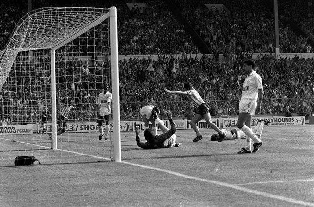 There was more Wembley heartache for Clemence as Coventry won the 1987 FA Cup final