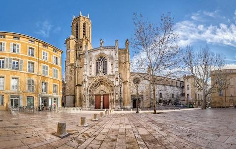 Aix's cathedral - Credit: ISTOCK