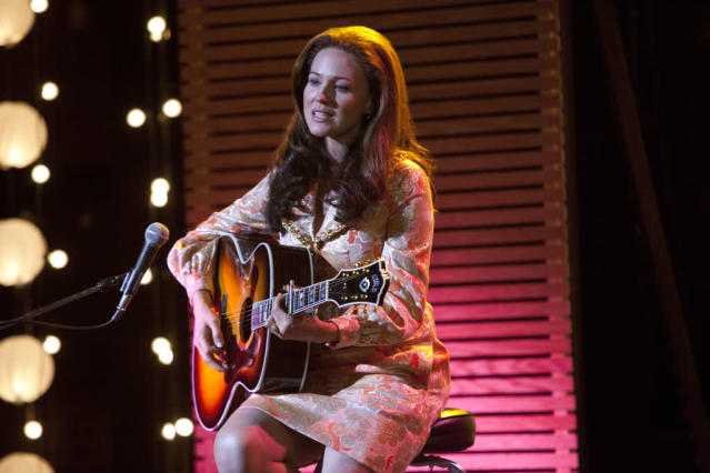 "Jewel as June Carter Cash in the Lifetime Original Movie, ""Ring of Fire."""