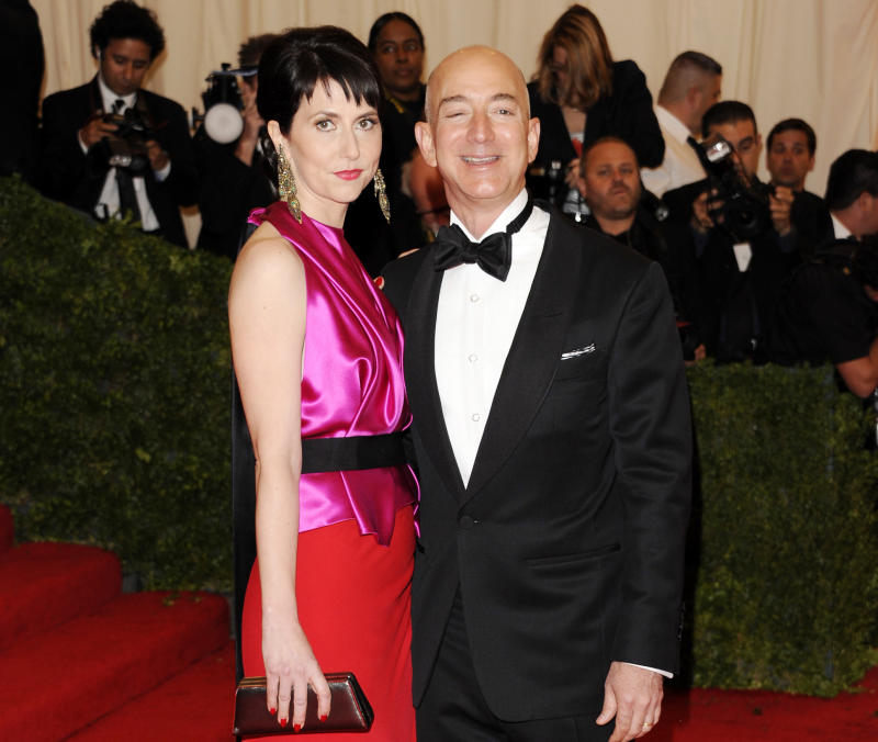 Wife of Jeff Bezos pans book about Amazon