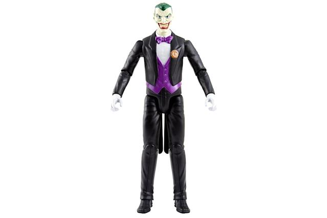 <p>Better smile when you talk to, or play with, Gotham's resident Clown Prince of Crime. (Photo: Mattel/Warner Bros.) </p>
