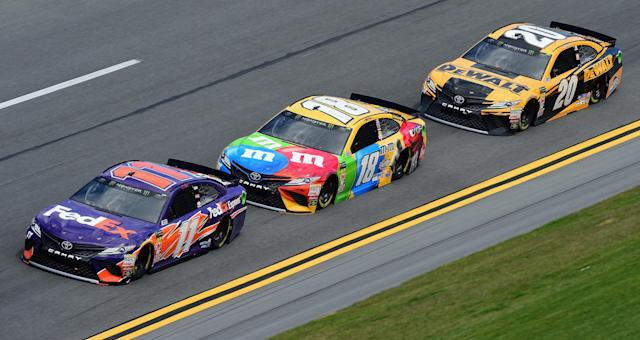 These three JGR cars should make it. (Getty)