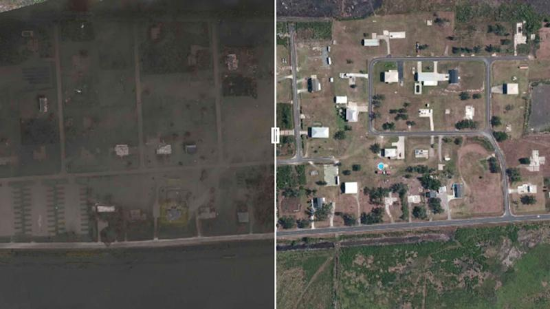 See it: NOAA releases before and after images of Hurricane Laura