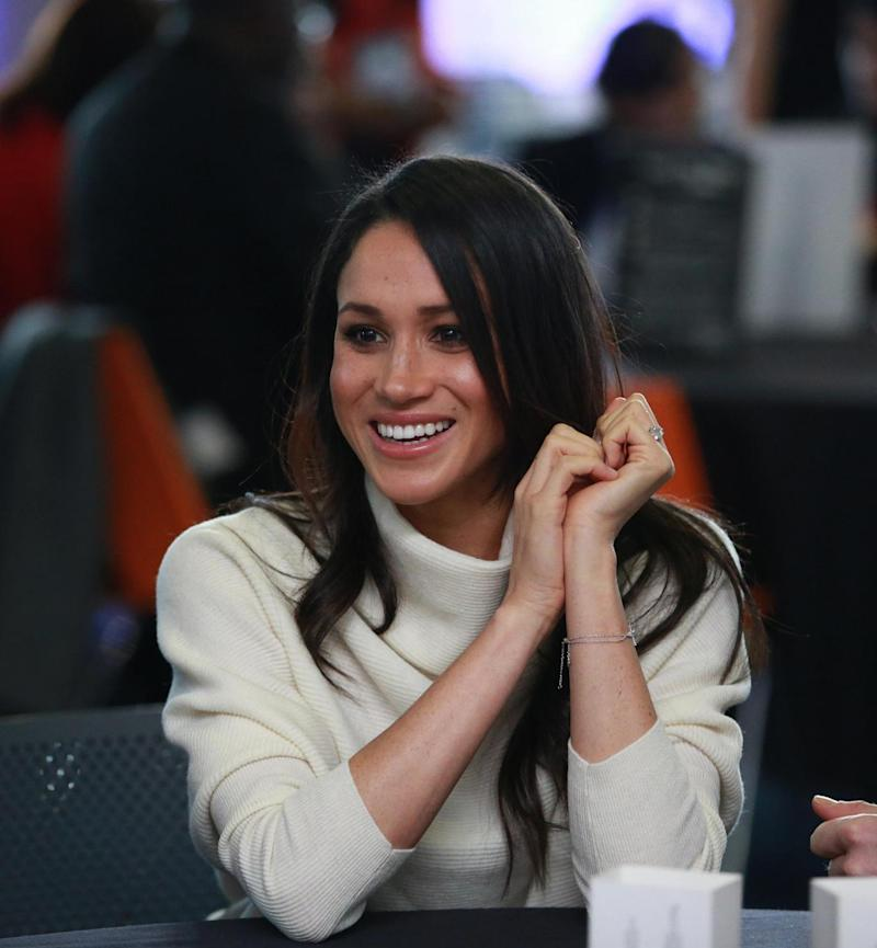 Meghan Markle visits Millennium Point to celebrate International Women's Day (Getty Images)
