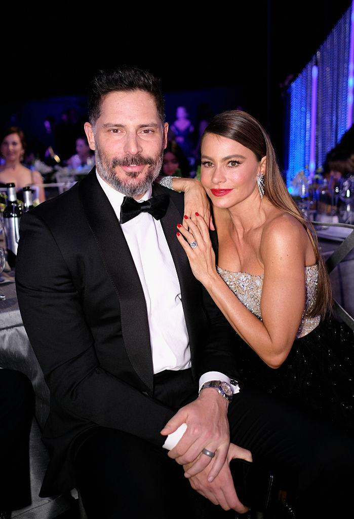 Actors Joe Manganiello and Sofia Vergara attend The 23rd Annual Screen Actors Guild Awards at The Shrine Auditorium on January 29, 2017 in Los Angeles, California.