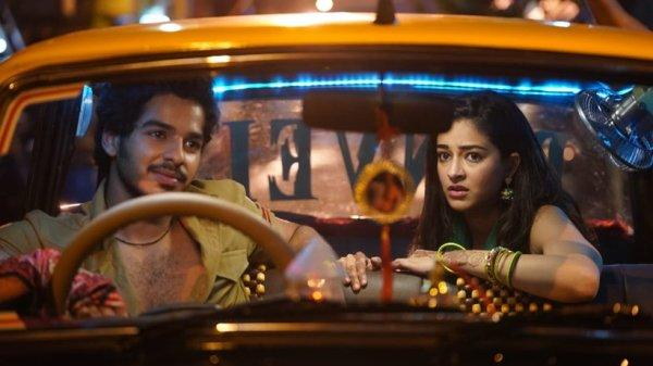 ananya panday with ishaan khatter