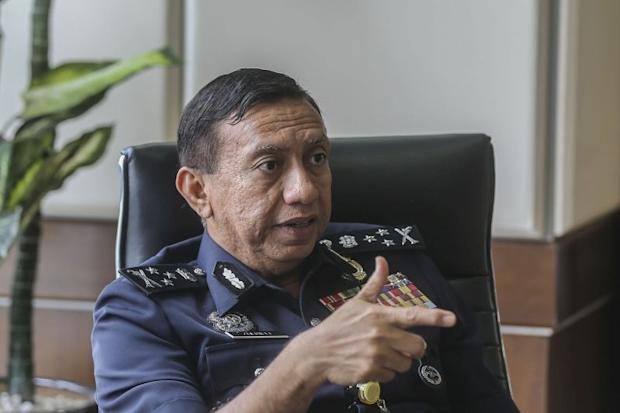 Bukit Aman Internal Security and Public Order director Datuk Seri Zulkifli Abdullah speaks to Malay Mail in an interview in Kuala Lumpur March 8, 2018. — Picture by Firdaus Latif