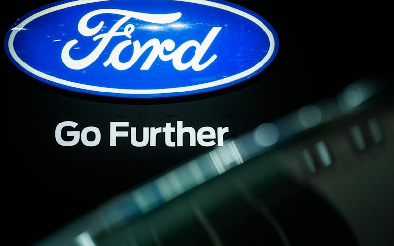 Ford's profit margin dipped to 5.2pc in the first quarter from 6.4pc a year earlier - EPA
