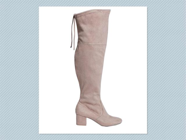 "<p>Over-the-knee boot with low block heel, $90, <a href=""https://www.lanebryant.com/over-the-knee-boot-with-low-block-heel/prd-341151#color/0000009385"" rel=""nofollow noopener"" target=""_blank"" data-ylk=""slk:Lane Bryant"" class=""link rapid-noclick-resp"">Lane Bryant</a> (Photo: Lane Bryant) </p>"