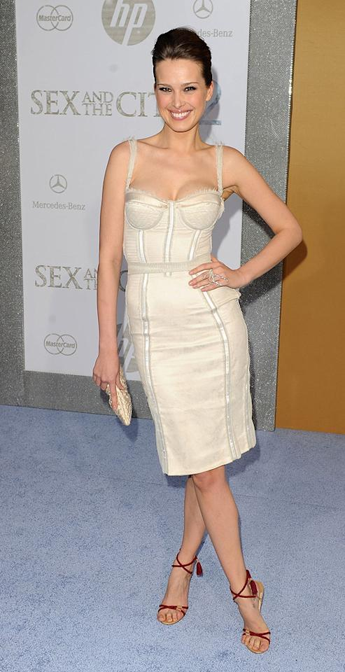 "<a href=""http://movies.yahoo.com/movie/contributor/1808485470"">Petra Nemcova</a> at the New York City premiere of <a href=""http://movies.yahoo.com/movie/1810111276/info"">Sex and the City 2</a> - 05/24/2010"