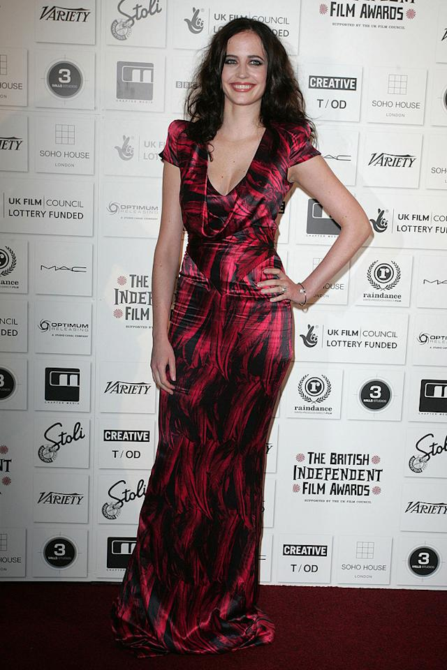 """<a href=""""http://movies.yahoo.com/movie/contributor/1808499952"""">Eva Green</a> at the 2009 British Independent Film Awards in London - 12/06/2009"""