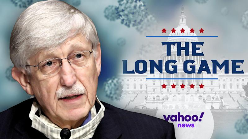 Francis Collins. (Photo illustration: Yahoo News; photo: AP)