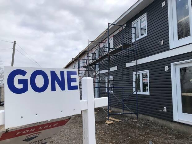 Real estate markets have been sizzling in all corners of New Brunswick this year with record sales and sale prices. Interprovincial migration has increased the population and COVID-19 fuelled a desire among many for more space. (Robert Jones/CBC - image credit)