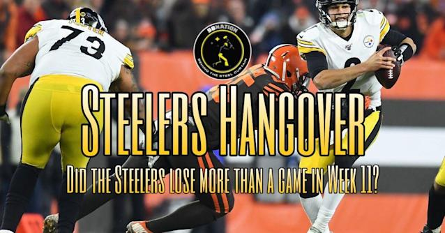 Podcast: Did the Steelers lose more than just a game in Week 11 vs. Cleveland?