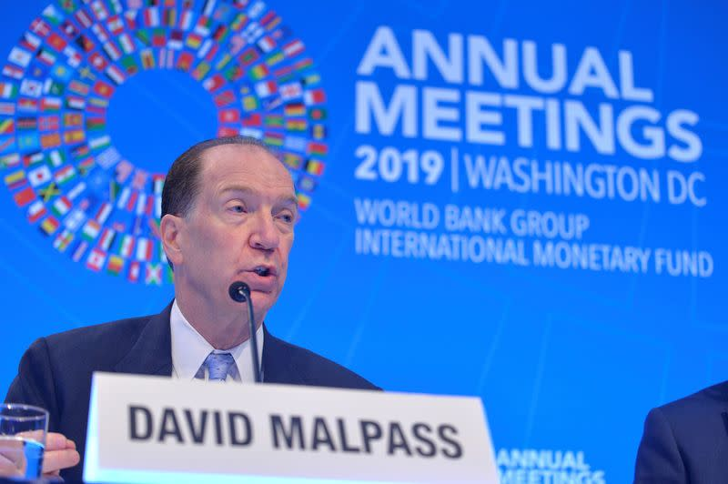 World Bank, IMF urge debt relief for poorer countries hit by coronavirus