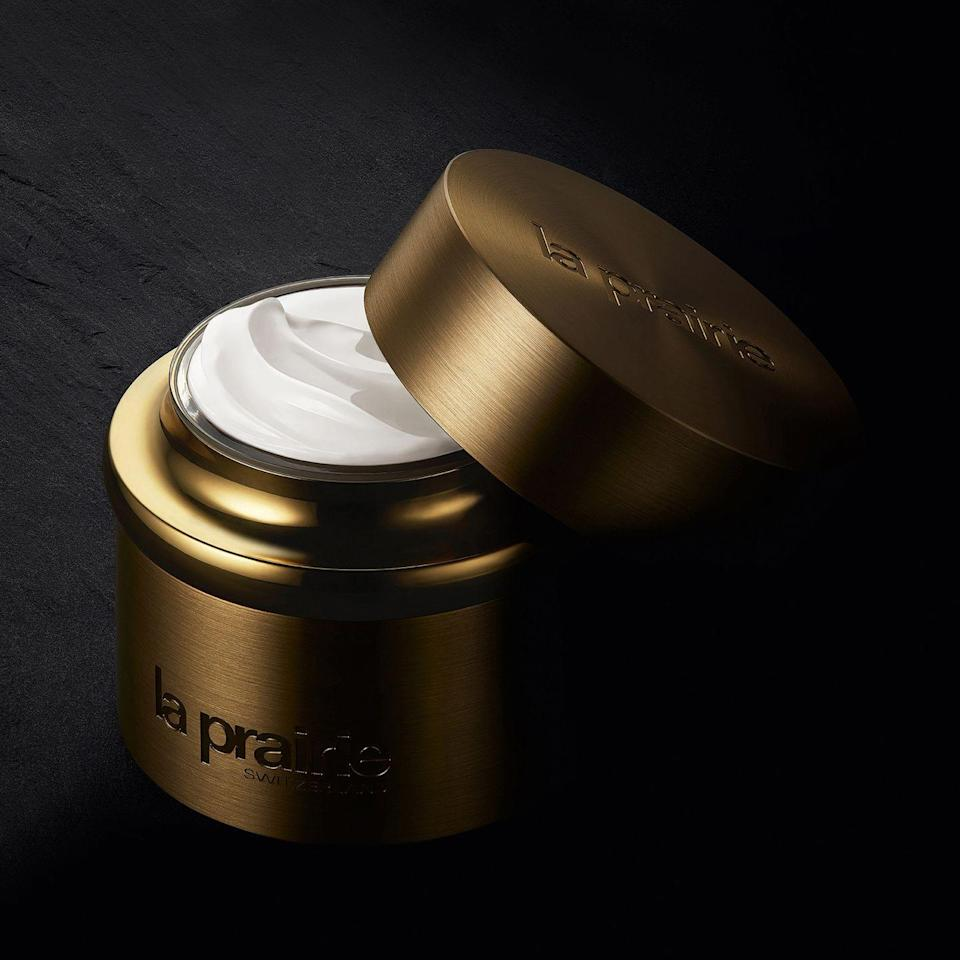 """<p>If you really, really want to go all-out, here's the brand to do it with. La Prairie's roots go back to 1931, when Professor Paul Niehans began treating patients using cellular therapy in the Swiss countryside at the top-notch Clinique La Prairie. Now, the elite company creates anti-aging products that straddle the line between cosmeceutical and luxury skincare. Bank-account busting they may be, but the new Pure Gold Collection is worth the splurge. Expect new skin with an intense dose of enriched and hydrated cuticles. Your dad will thank you later. </p><p>From £512, <a href=""""https://www.laprairie.com/en-gb/pure-gold-collection"""" rel=""""nofollow noopener"""" target=""""_blank"""" data-ylk=""""slk:La Prairie"""" class=""""link rapid-noclick-resp"""">La Prairie</a>.</p>"""