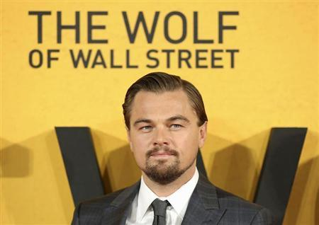 Leonardo DiCaprio arrives for the U.K. Premiere of The Wolf of Wall Street in London
