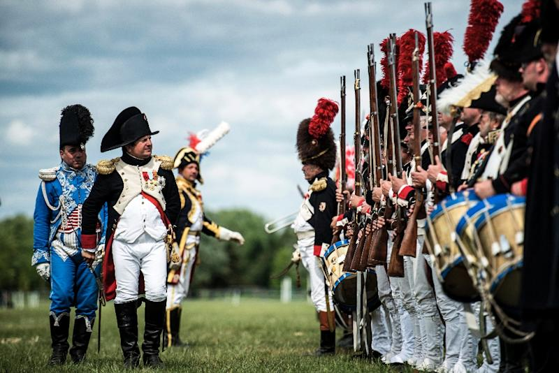 Historian Helmut Stubbe da Luz believes Napoleonic rule across continental Europe, balanced by Britain's enduring maritime supremacy, would not necessarily have been that bad for the world (AFP Photo/Jeff Pachoud)