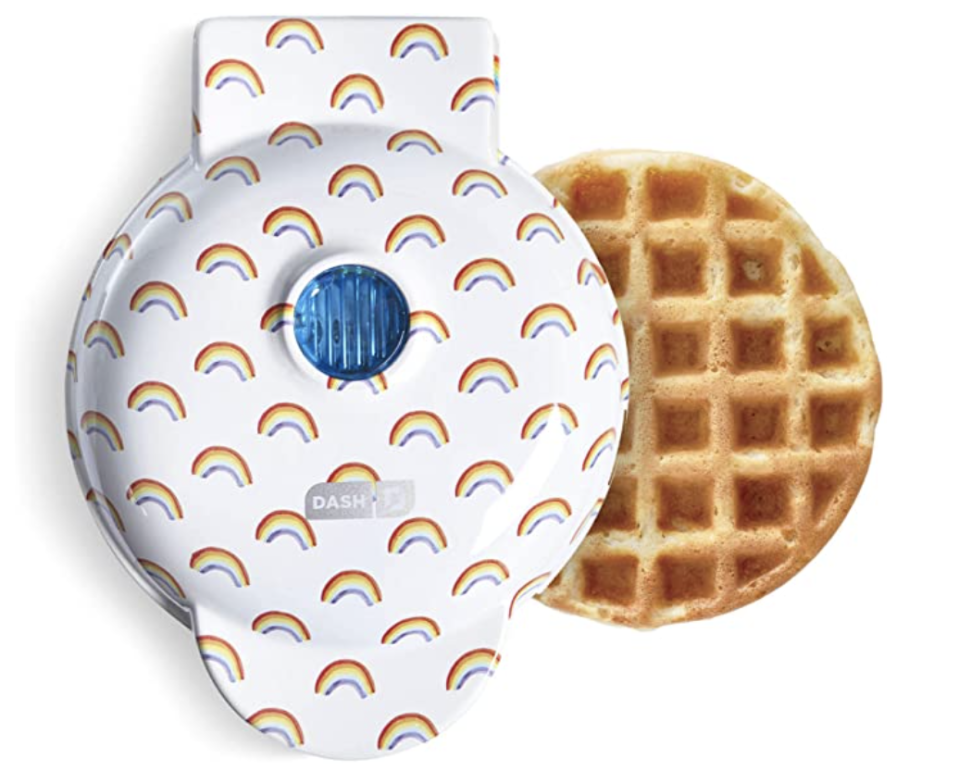 Small homemade waffles are an essential part of the Winter 2021 diet. (Photo: Amazon)