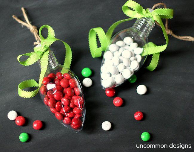 """<p>This DIY Ornament won't keep for years (well, the filling at least), but it's a fun craft nonetheless. Plus, it makes a cute gift topper, too. </p><p><em>Get the tutorial at <a href=""""https://www.anightowlblog.com/candy-filled-ornaments/"""" rel=""""nofollow noopener"""" target=""""_blank"""" data-ylk=""""slk:A Night Owl Blog"""" class=""""link rapid-noclick-resp"""">A Night Owl Blog</a>.</em></p><p><a class=""""link rapid-noclick-resp"""" href=""""https://www.amazon.com/Creative-Hobbies-Plastic-Christmas-Ornaments/dp/B07PYJQBKJ/?tag=syn-yahoo-20&ascsubtag=%5Bartid%7C10072.g.34443405%5Bsrc%7Cyahoo-us"""" rel=""""nofollow noopener"""" target=""""_blank"""" data-ylk=""""slk:SHOP LIGHT-SHAPED ORNAMENT"""">SHOP LIGHT-SHAPED ORNAMENT</a></p>"""