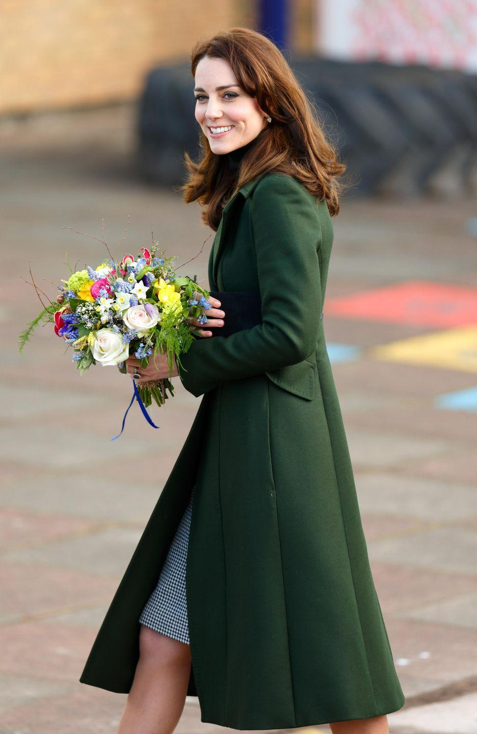 <p>Kate visited St. Catherine's Primary School in Edinburgh as part of her work with the charity Place2Be, of which she is a patron.</p>