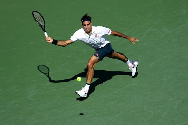 Roger Federer lost to Russia's Andrey Rublev on Thursday at the ATP Cincinnati Masters (AFP Photo/Rob Carr)
