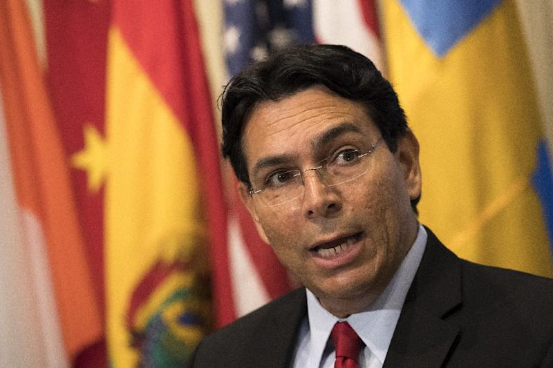 Isral's Ambassador to the United Nations, Danny Danon, demanded that the New York Times hold accountable those responsible for publishing an anti-Semitic cartoon
